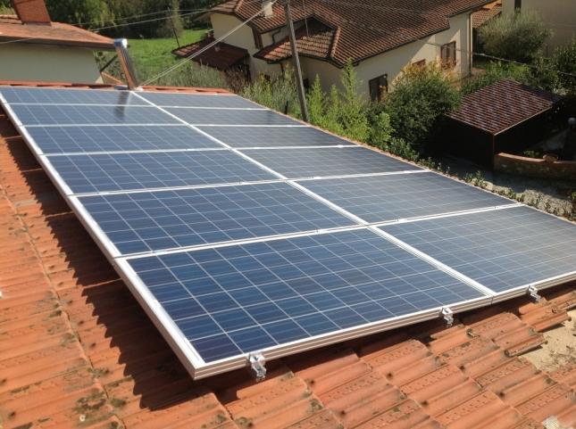 Impianto fotovoltaico da 2,88 kWp a Uzzano (PT)