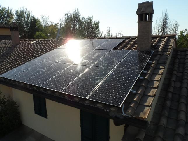 Impianto fotovoltaico da 4,00 kWp a Castelfiorentino (FI)