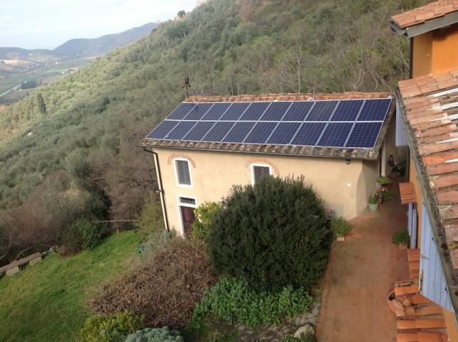 Impianto fotovoltaico da 4,80 kWp a San Giuliano Terme (PI)