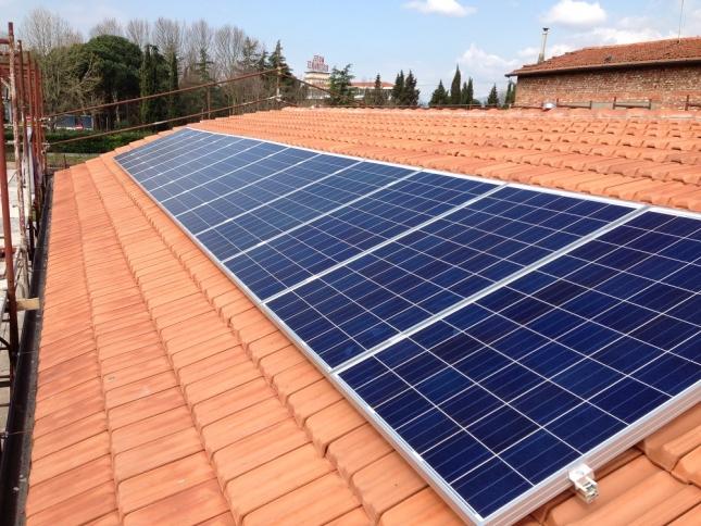 Impianto fotovoltaico da 3,25 kWp a Chiesina Uzzanese (PT)