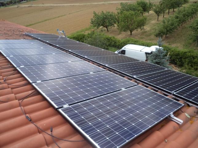 Impianto fotovoltaico da 4,32 kWp Chiusdino (SIENA)