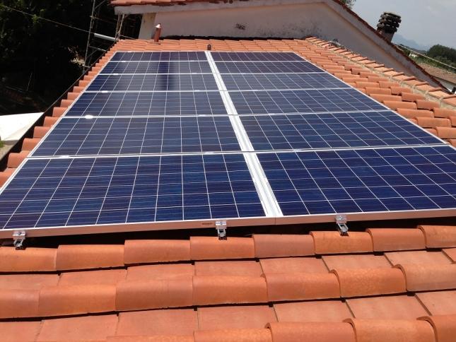 Impianto fotovoltaico da 3,00 kWp a Chiesina U. (PT)