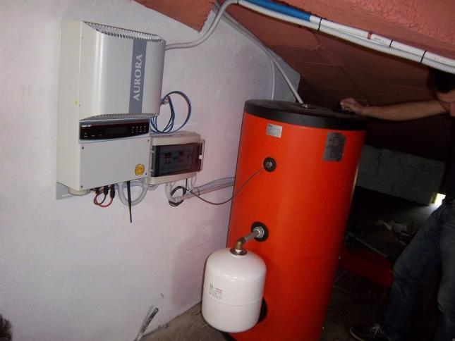Impianto solare Termico 2x200 Circolazione forzata a Lucca (LU)