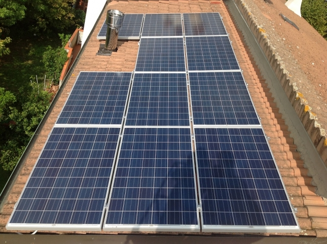 Impianto fotovoltaico da 2,64 kWp a Pescia (PT)