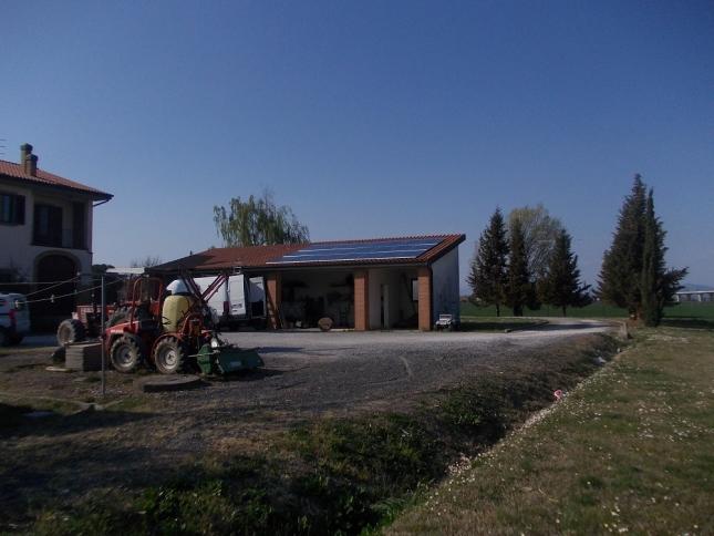 Impianto Fotovoltaico da 5,76 kWp a Collesalvetti (Livorno)