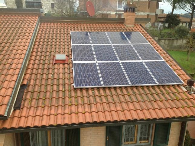 Impianto fotovoltaico da 2,88 kWp a San Miniato (PI)