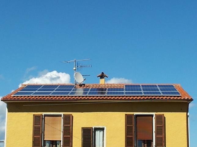 Impianto fotovoltaico da 5,76 kwp a Gavorrano (GR)